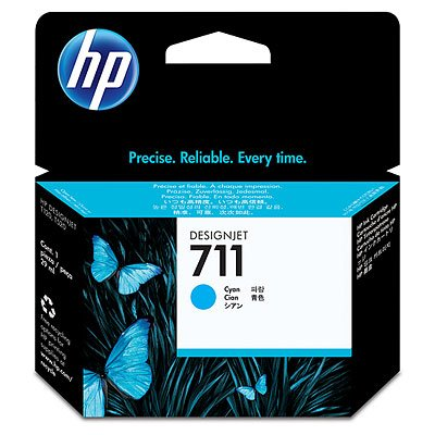CARTRIDGE HP CZ130A (711) CYAN ORIGINAL