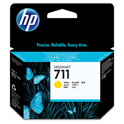 CARTRIDGE HP CZ132A (711) YELLOW ORIGINAL