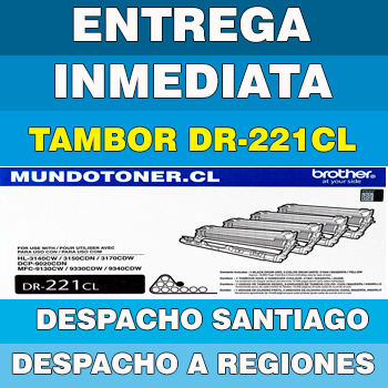 TAMBOR (DRUM) BROTHER DR-221CL ORIGINAL (DR221CL)
