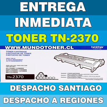 TONER BROTHER TN-2370 NEGRO ORIGINAL (TN2370) L2540 /L2740 / L2700 / L2360