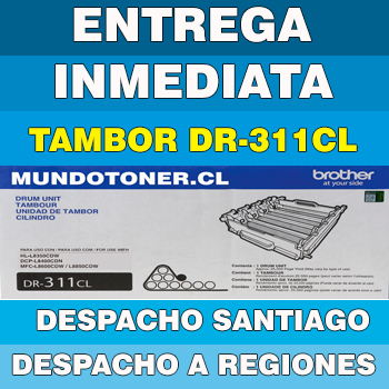 TAMBOR (DRUM) BROTHER DR-311CL ORIGINAL (DR311CL) MFC-L8850CDW / HL-L8350CDW