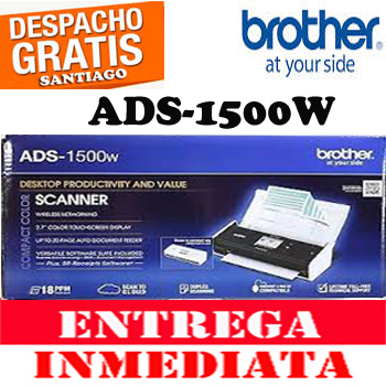 ESCANER BROTHER ADS-1500W COLOR TOUCH