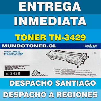 TONER BROTHER TN-3429 NEGRO ORIGINAL (TN3429)