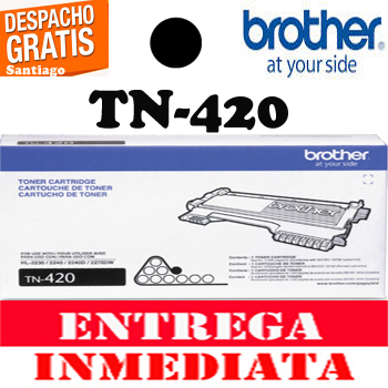 TONER BROTHER TN-420 NEGRO ORIGINAL