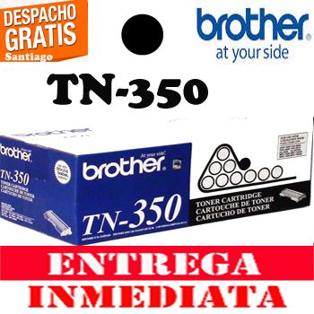 TONER BROTHER TN-350 ORIGINAL NEGRO